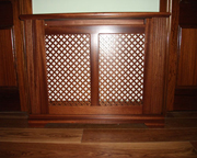 Custom made radiator cover